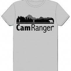 Black CamRanger t-shirt