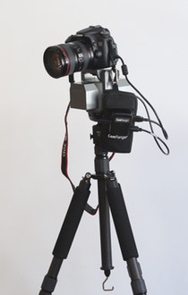 Wirelessly move the camera using the CamRanger, CamRanger PT Hub, and MP-360
