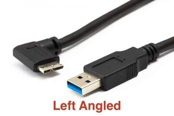 Micro USB 3.0 Angled Cable
