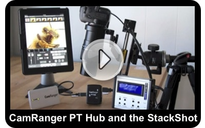CamRanger and CamRanger PT Hub support for the StackShot