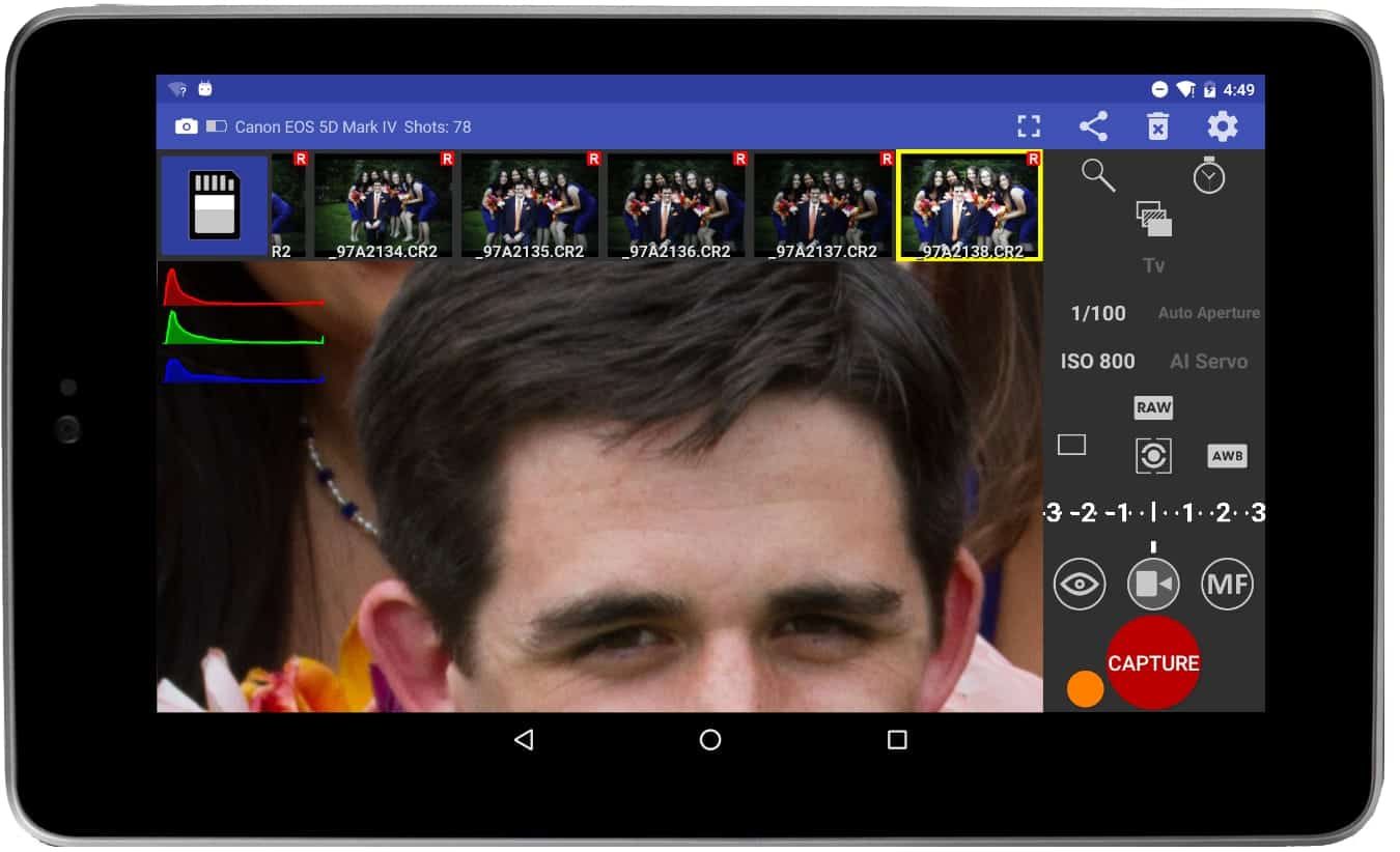 Android view zoom images