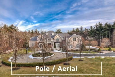 pole aerial real estate