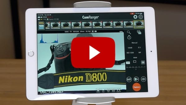 Nikon Wireless Tethering Demo