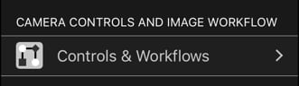 Controls and Workflows