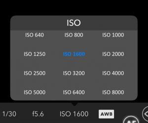 Change ISO Settings