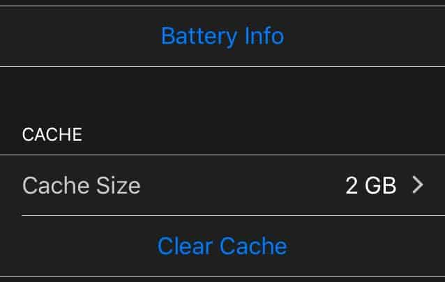 System Settings iOS