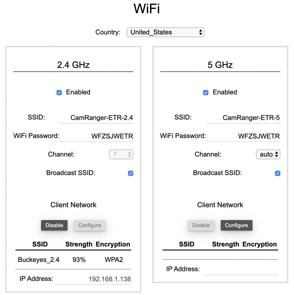 WiFi Tab