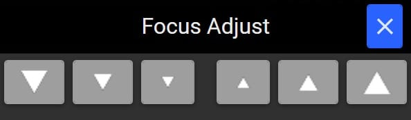 Windows Focus Adjustment