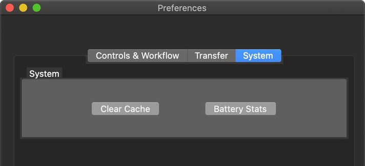 macpreferences system