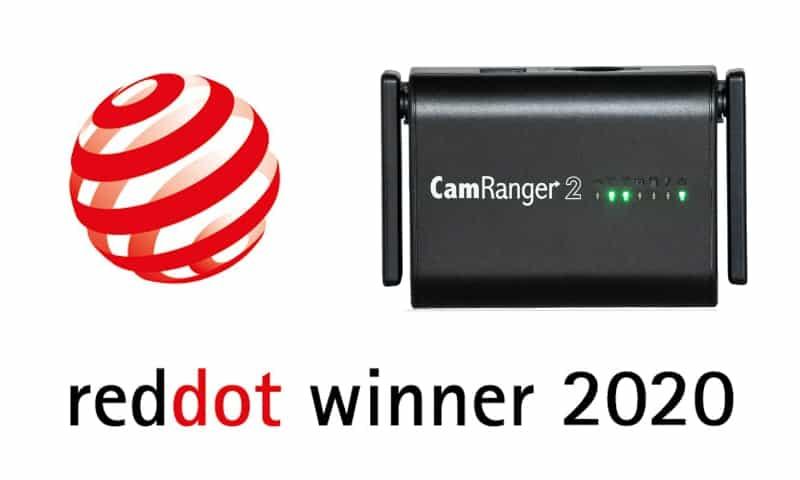 CamRanger 2 Red Dot Product Design Award