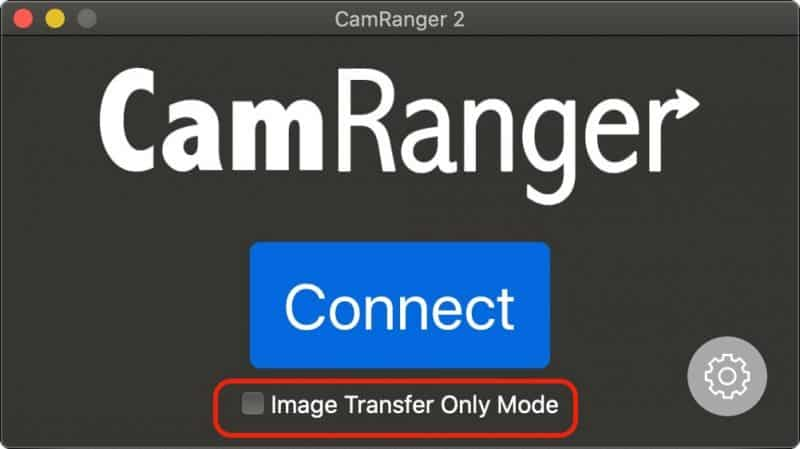 macOS Image Transfer Only Wireless Tethering