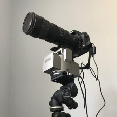 Video Remote Motorized Tripod Head
