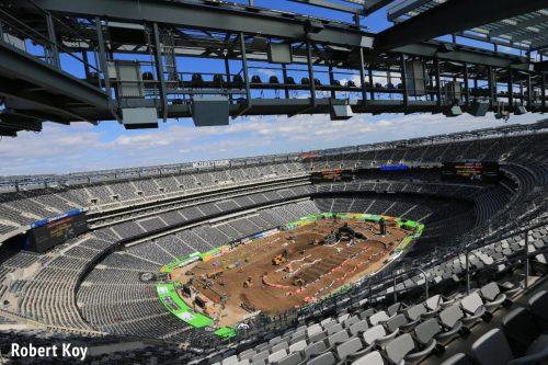 Remote Stadium Photography