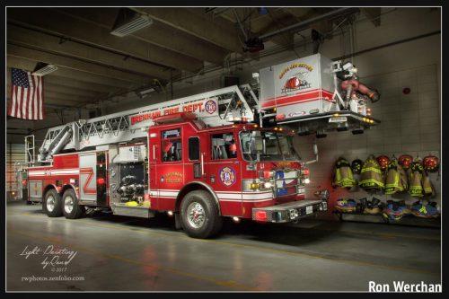 Fire Truck Light Painting