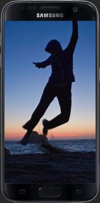 CamRanger self portrait Android phone